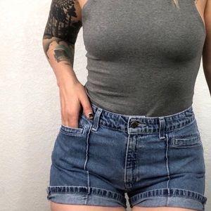 Levi's High Waist Denim Jean Shorts